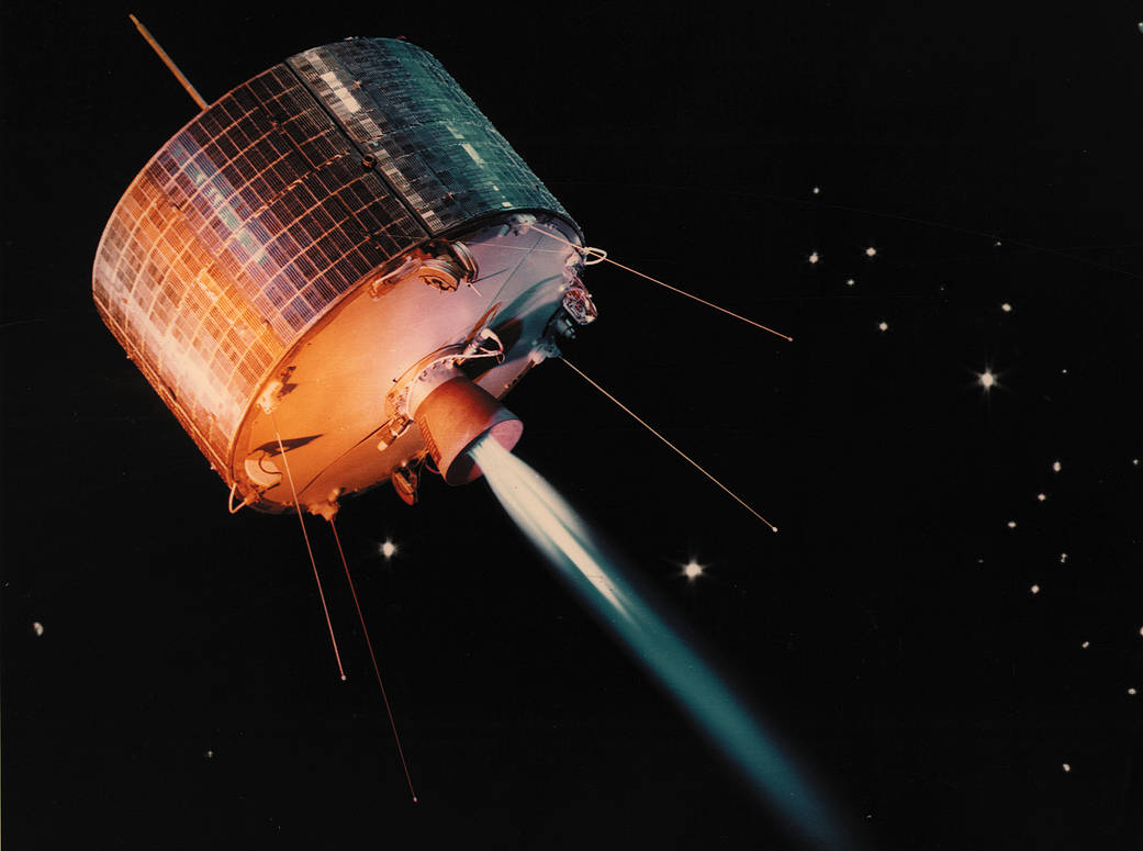The First Geosynchronous Satellite