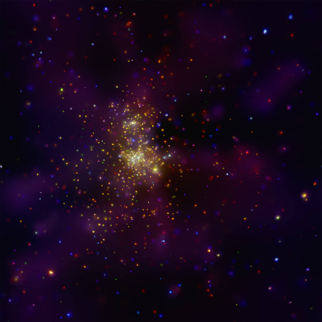 Chandra Captures Tuscan's Heart | NASA