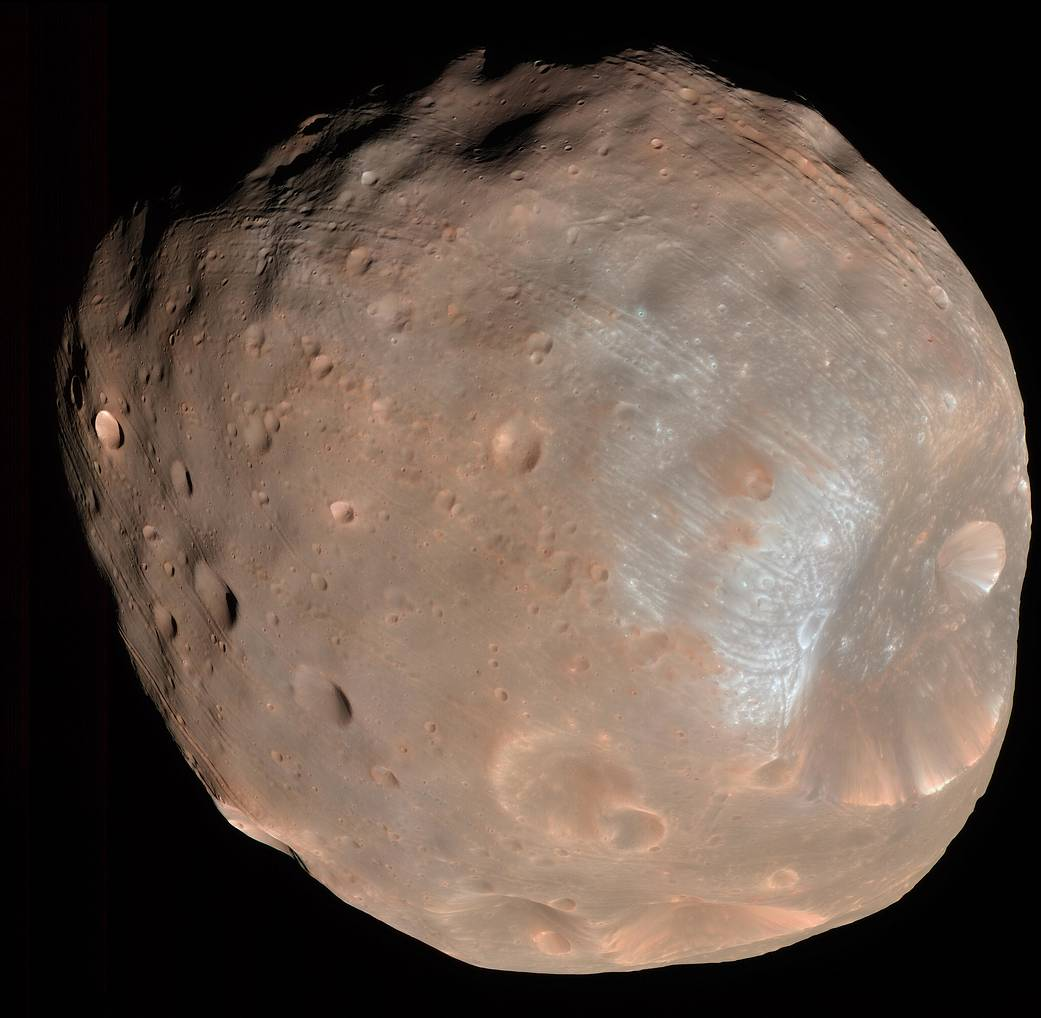 Doomed Moon of Mars