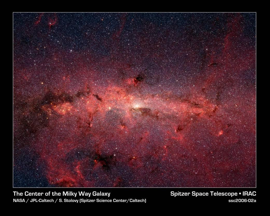 Estrelas no Centro Galáctico