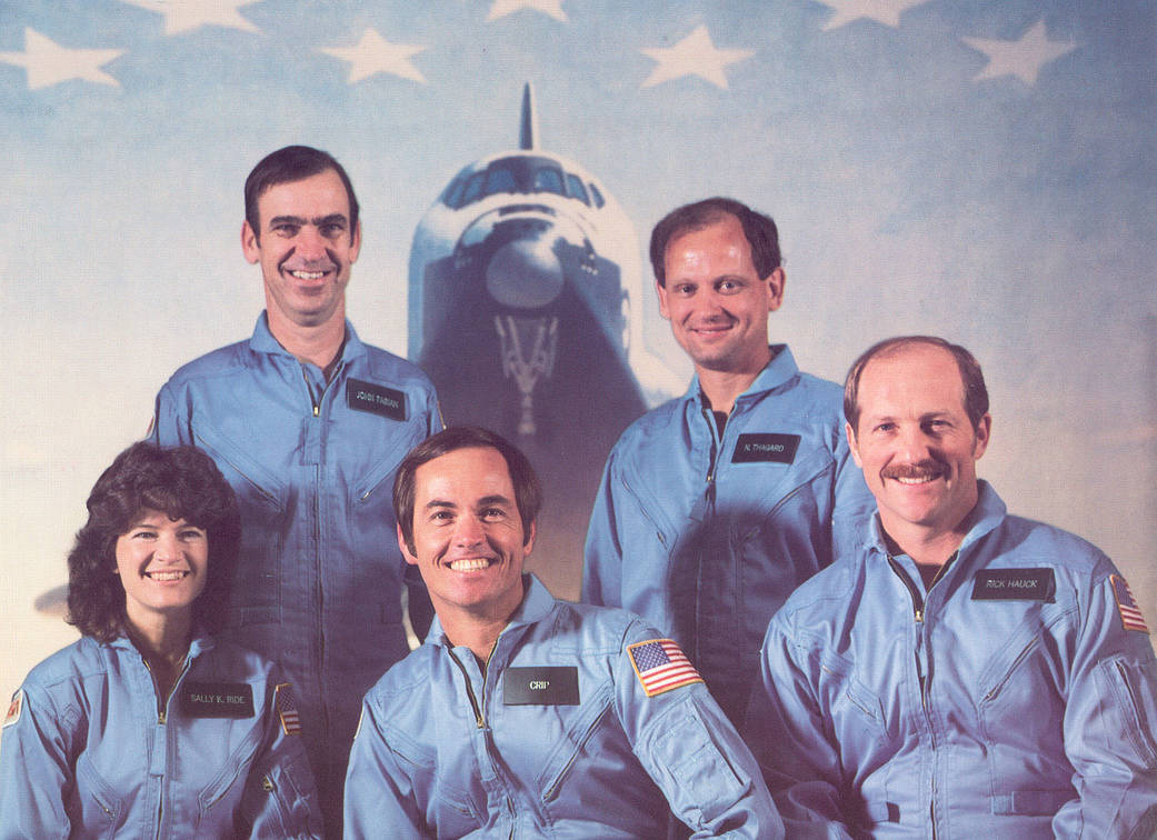 STS-7 Challenger Crew