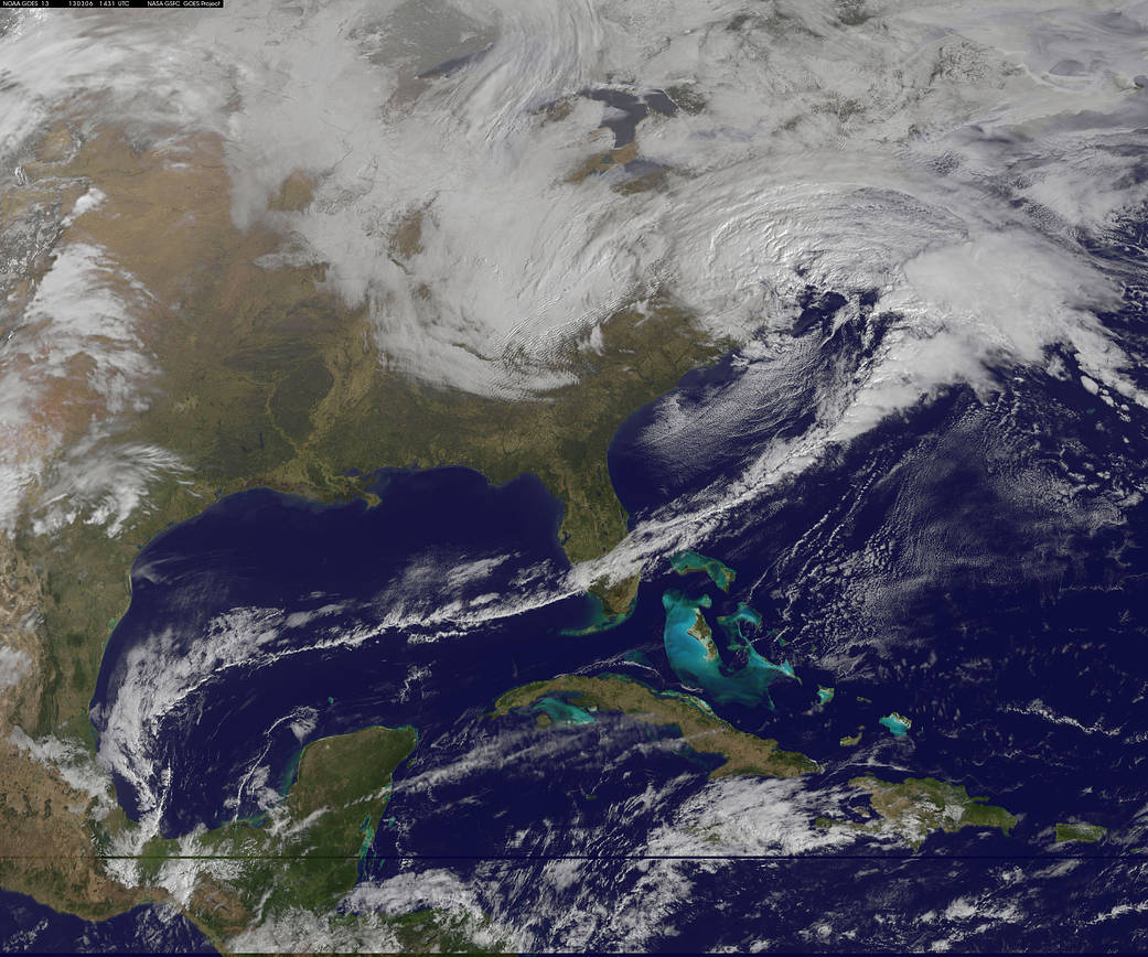 Colors After the Storms   NASA