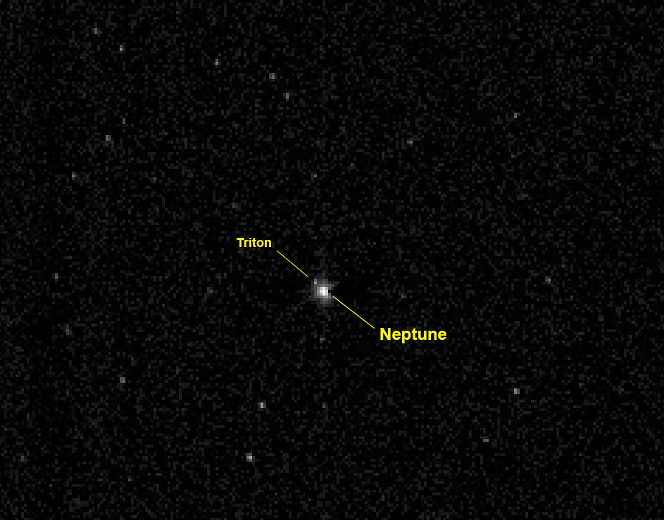 Image Gallery nasa neptune triton
