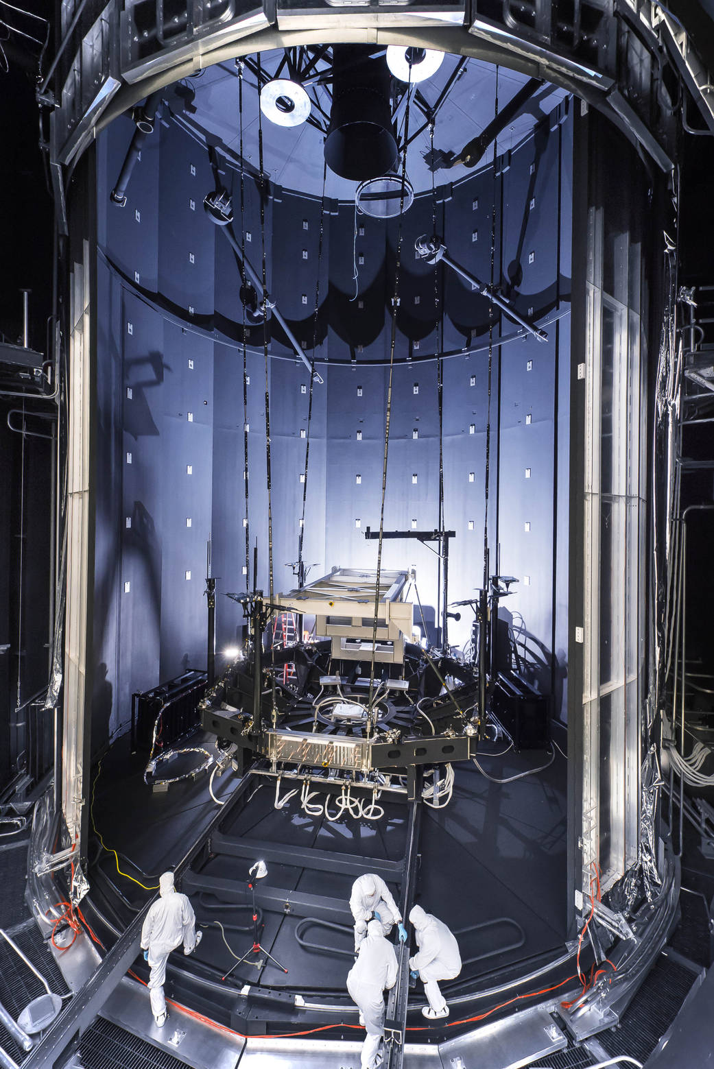 Space Simulation Chamber Prepared for Testing Webb Telescope | NASA