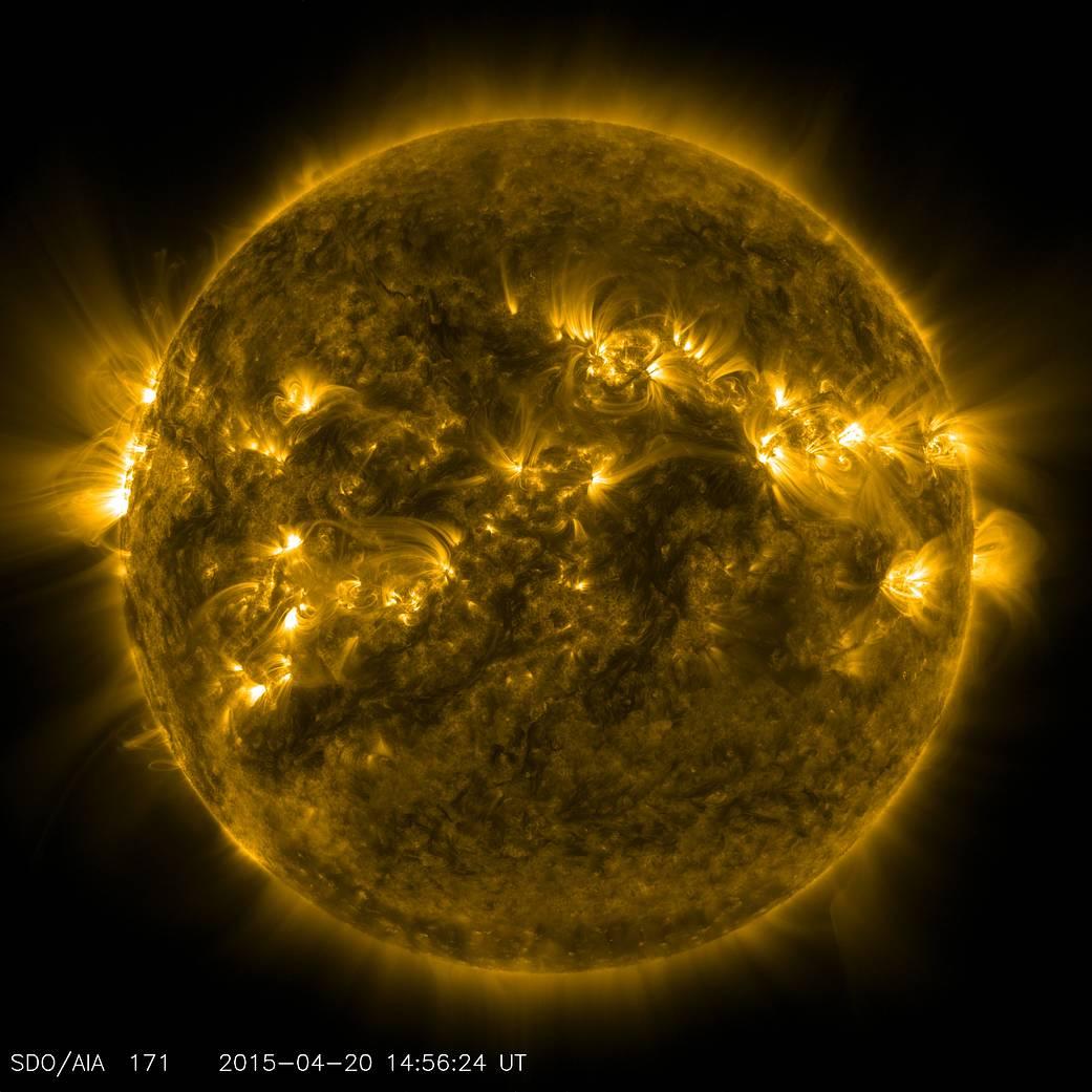 The sun has a thousand faces