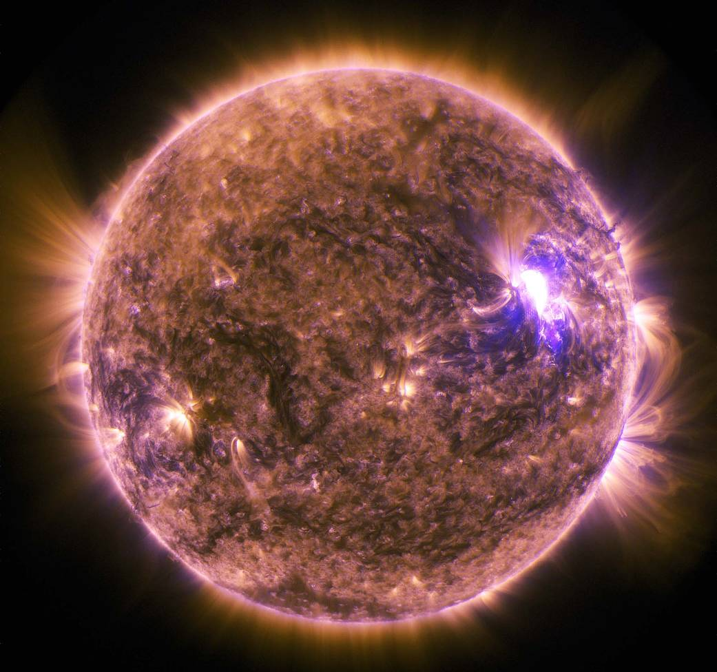 SDO captured this image of an M7.9-class solar flare on June 25, 2015.
