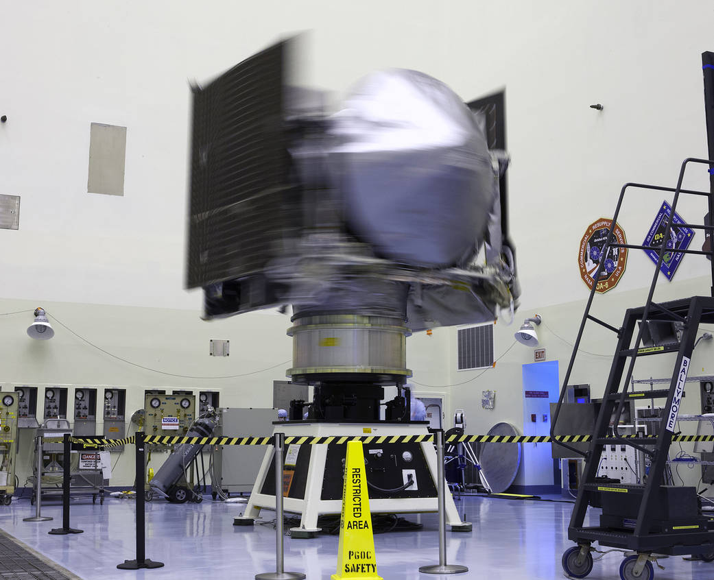Spin Test for OSIRIS-REx