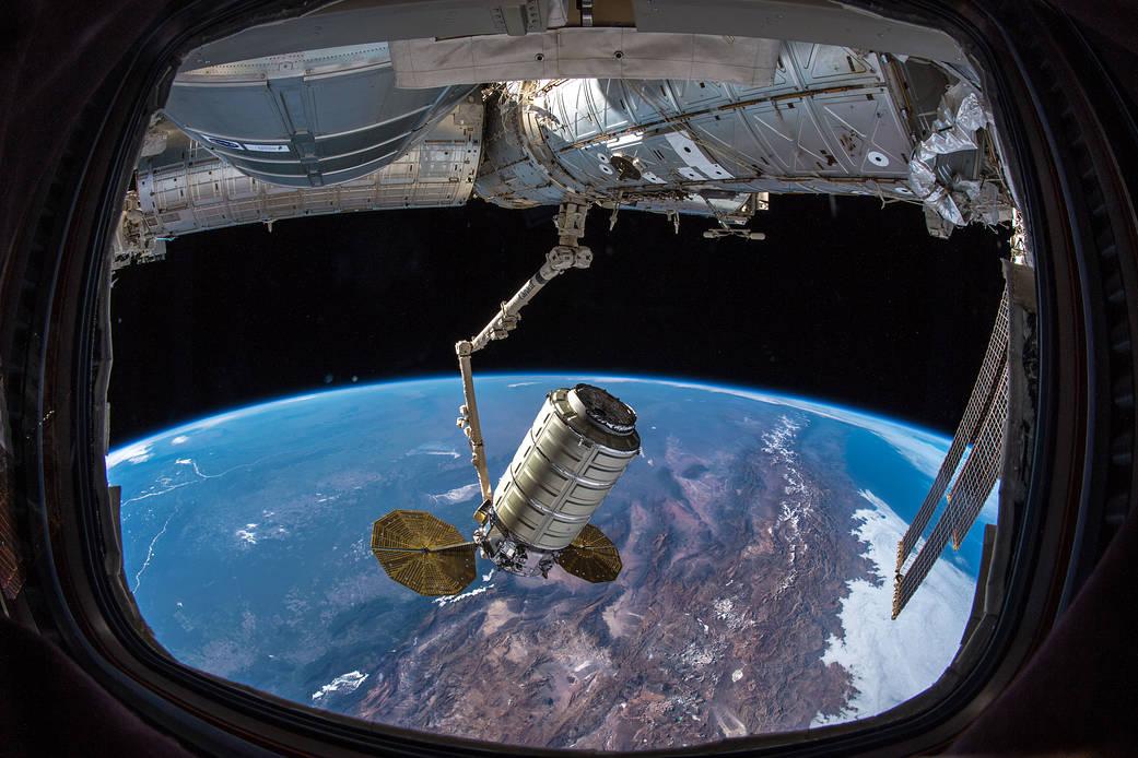 Cygnus capture November 19 2019