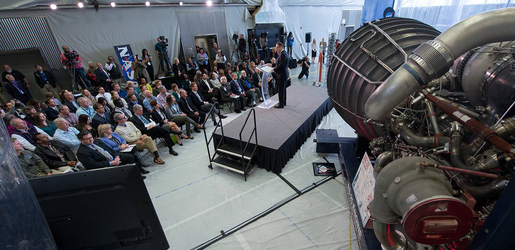 Acting NASA Administrator Robert Lightfoot discusses the fiscal year 2019