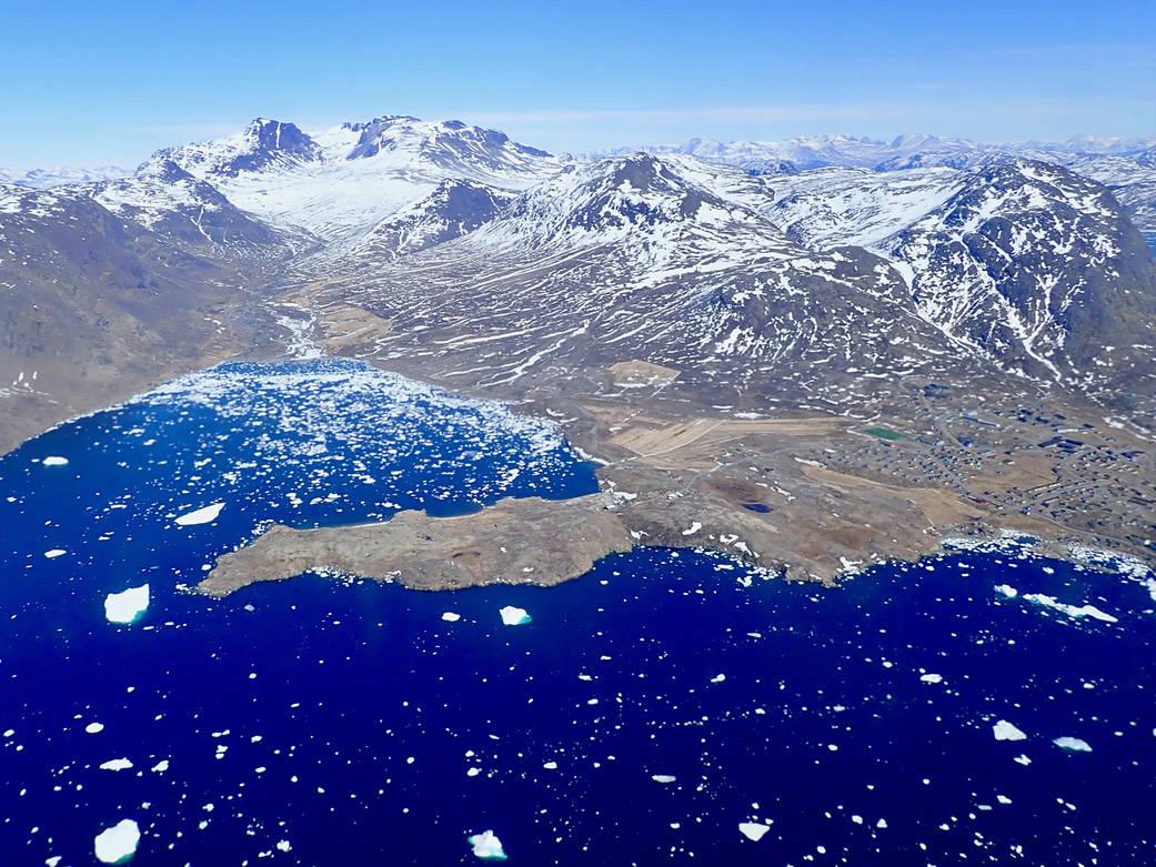 Southern Greenland town of Narsaq