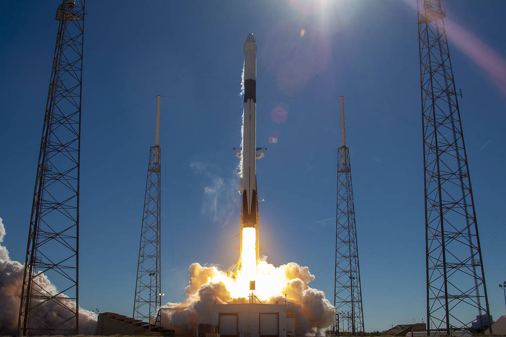 SpaceX CRS-16 launch on Dec. 4, 2018