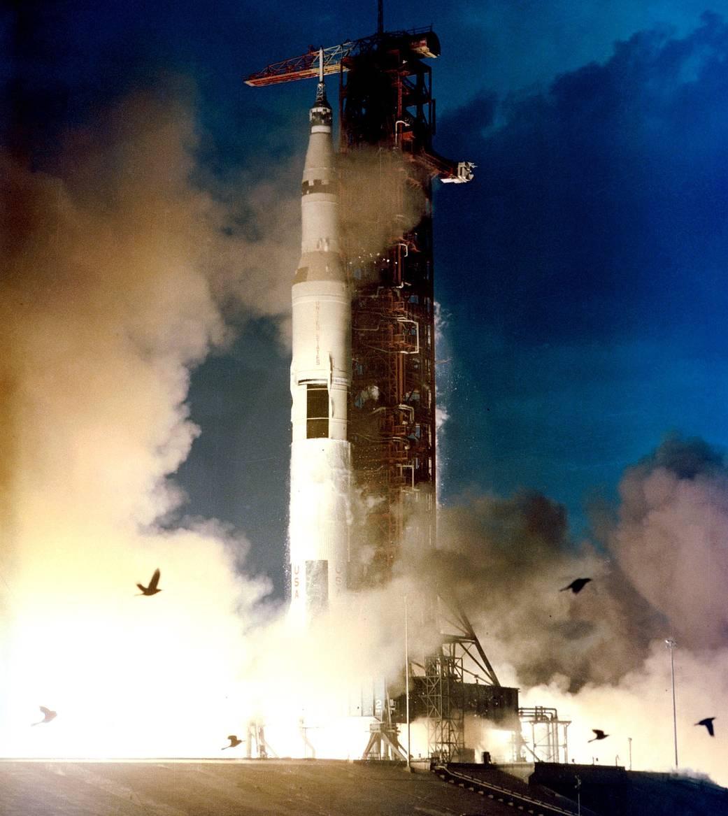 Apollo 14 Liftoff