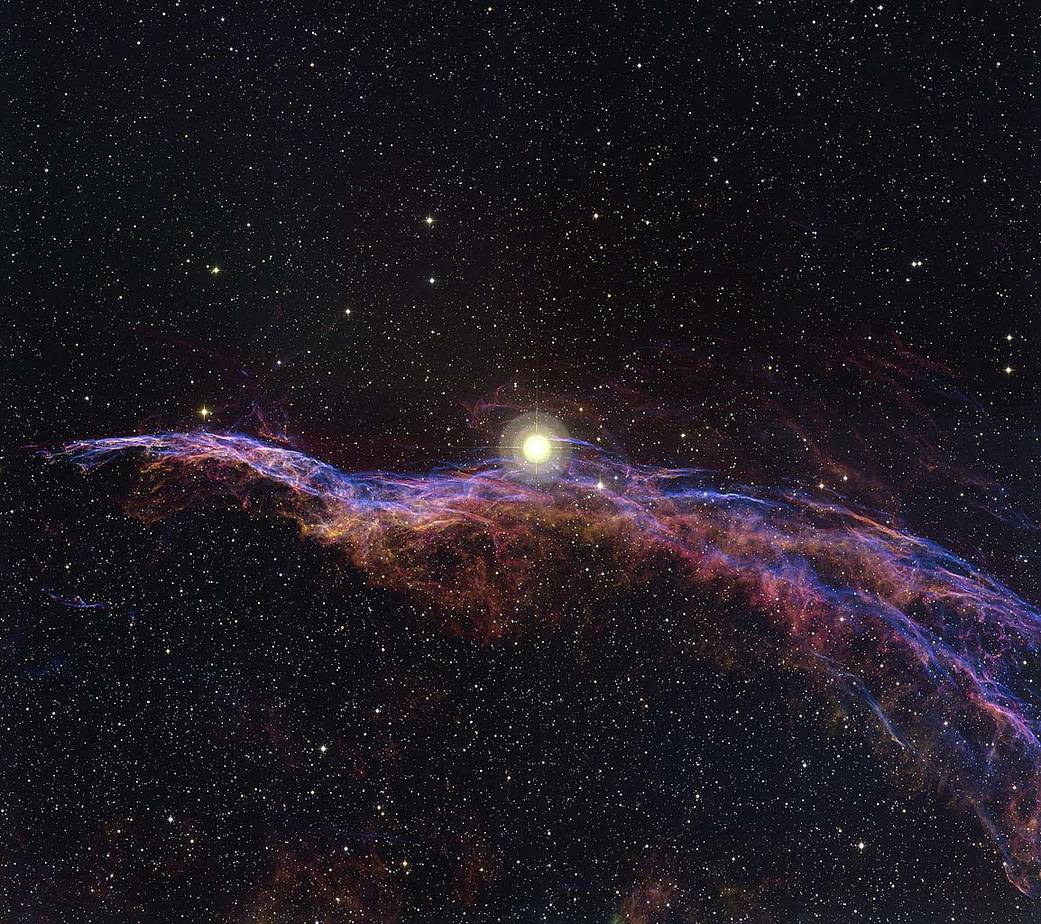 Image of the Witch's Broom Nebula