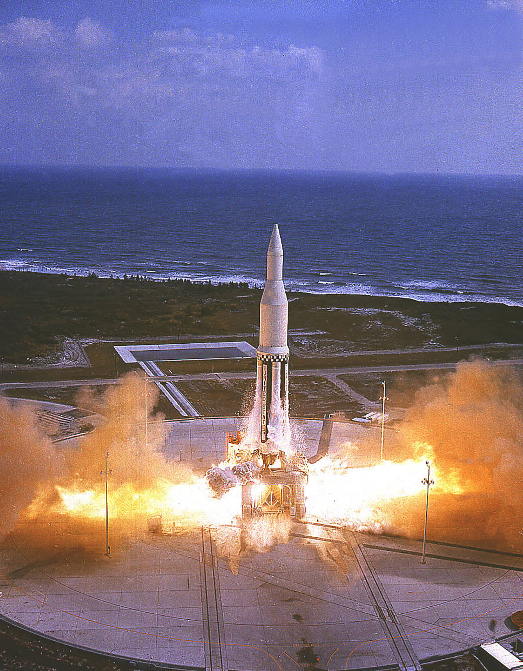 This week in 1961, marked a high point in the 3-year-old Saturn development program, as the first Saturn I vehicle, SA-1, flew.