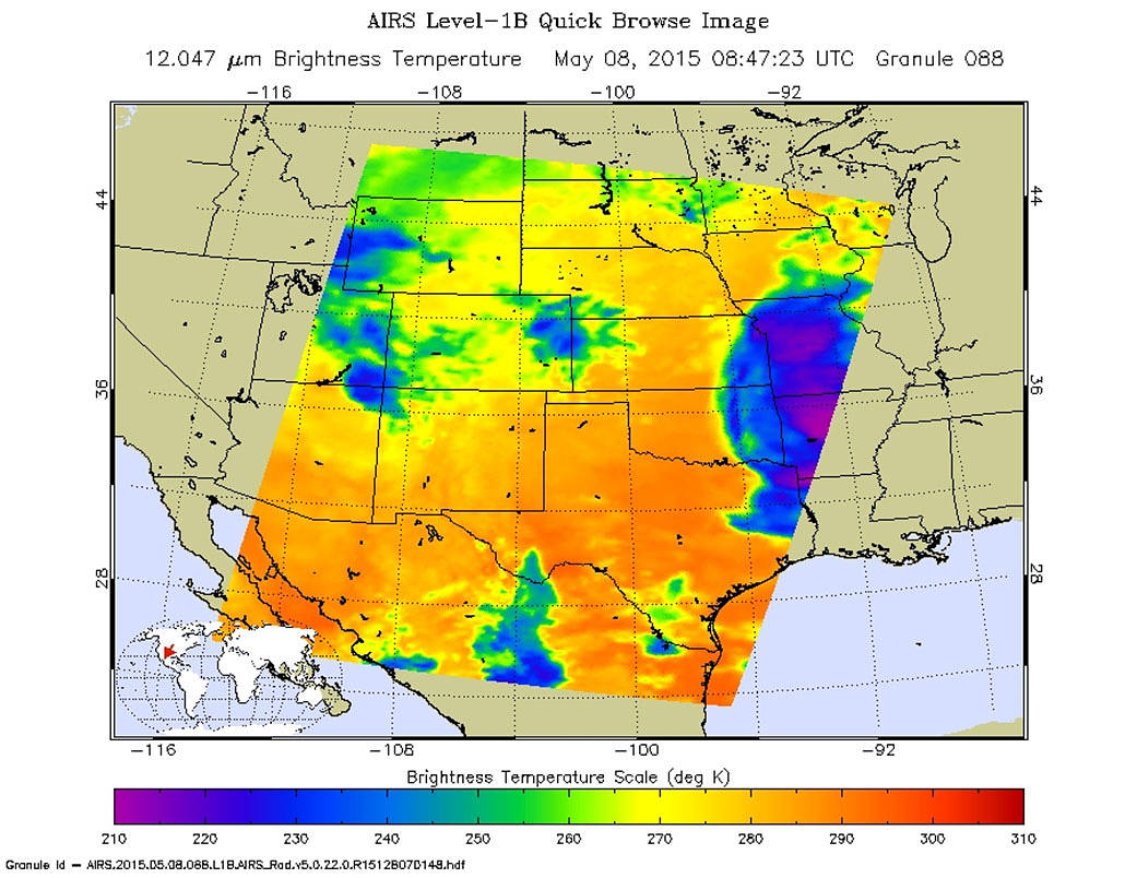 More Severe Weather In Store For Middle States In US NASA - Us weather map midwest