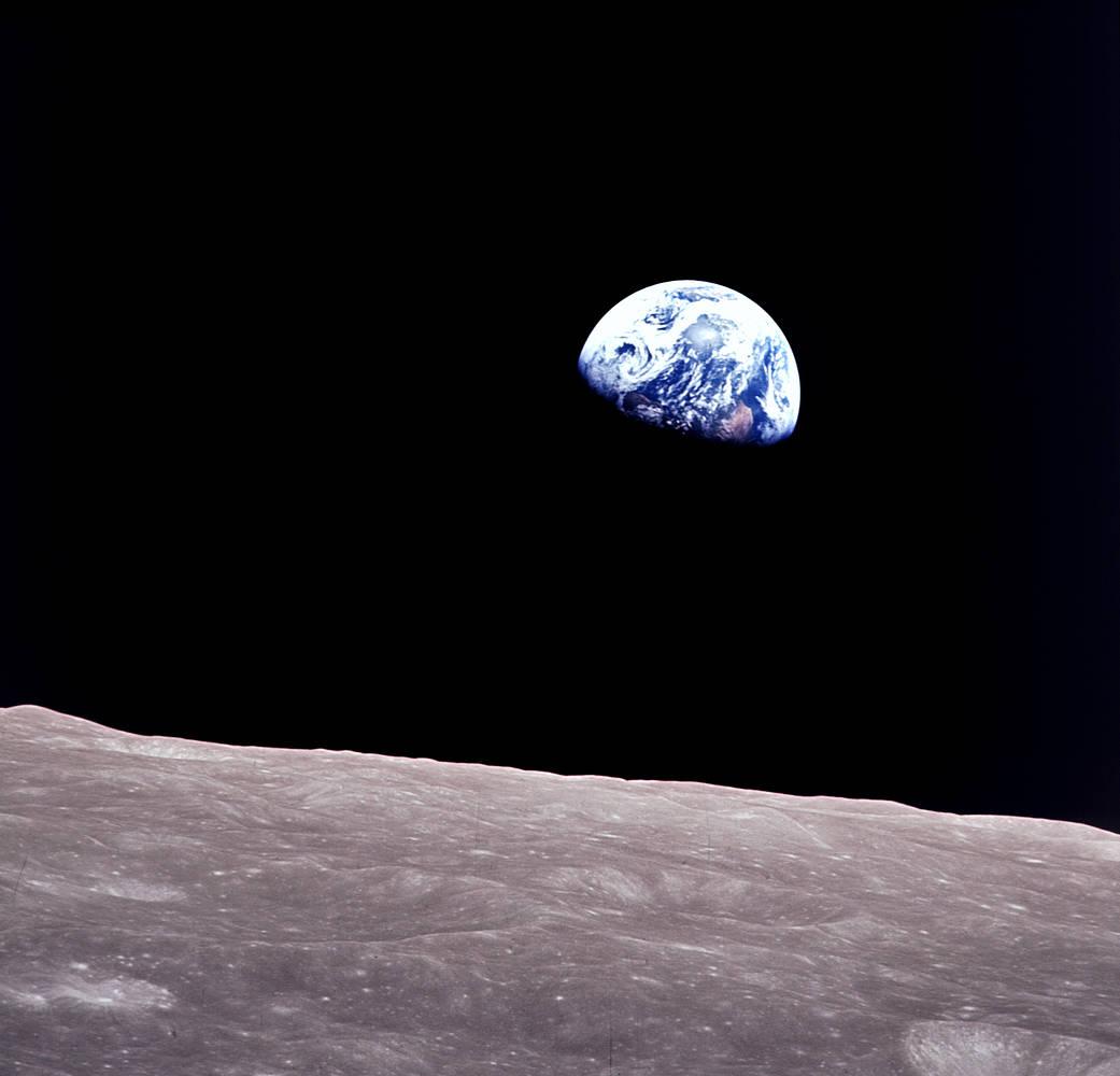 Wschód Ziemi z Apollo 8