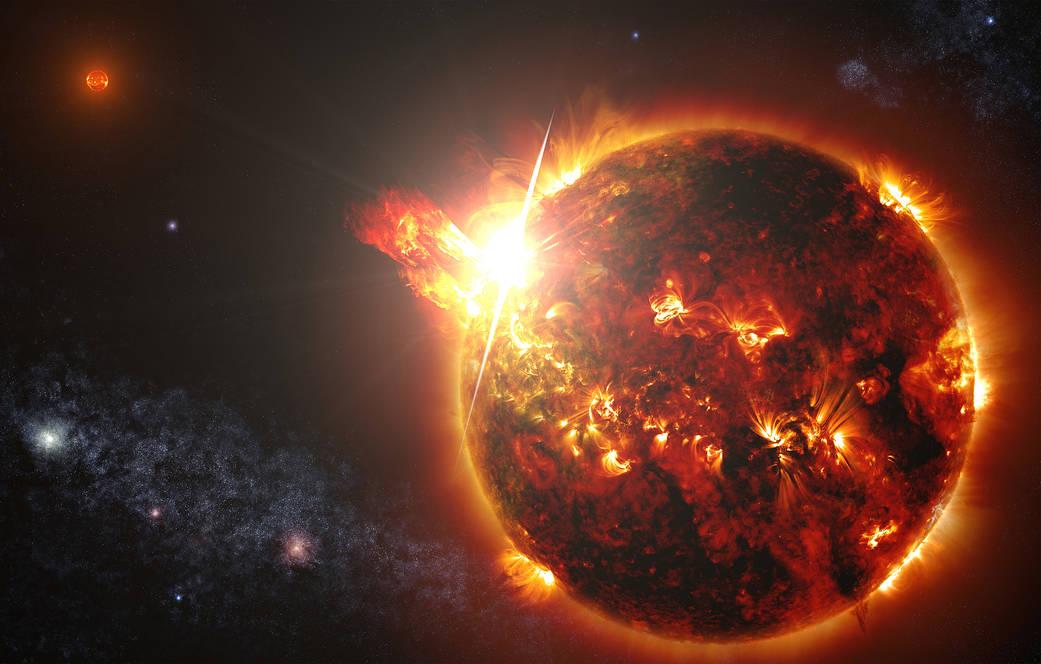 První detekce výronu koronální hmoty u vzdálené hvězdy