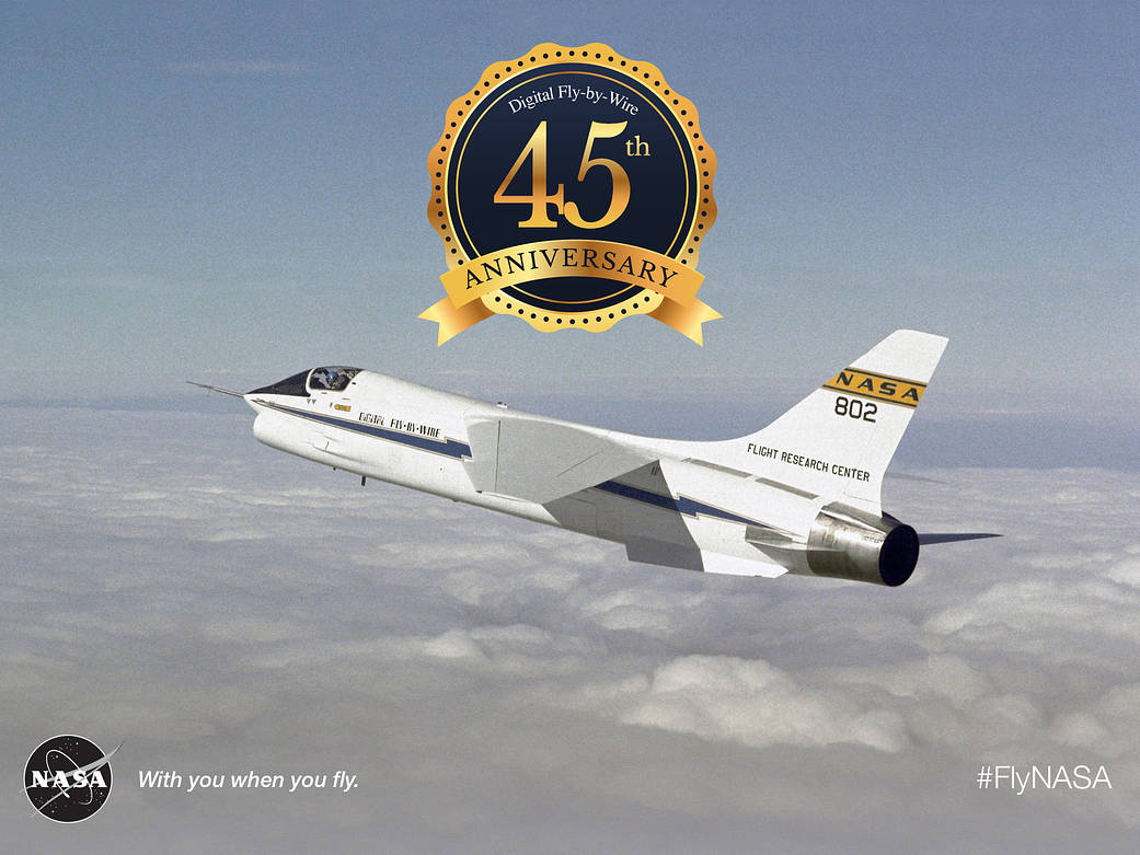 45th Anniversary Of The Digital Flybywire First Flight