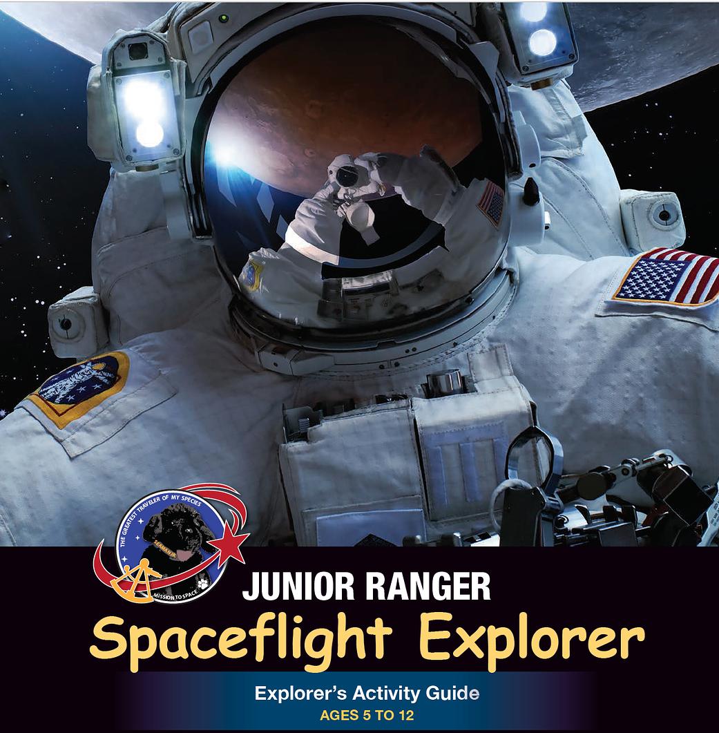 Cover of Junior Ranger Spaceflight Explorer Explorer's Activity Guide