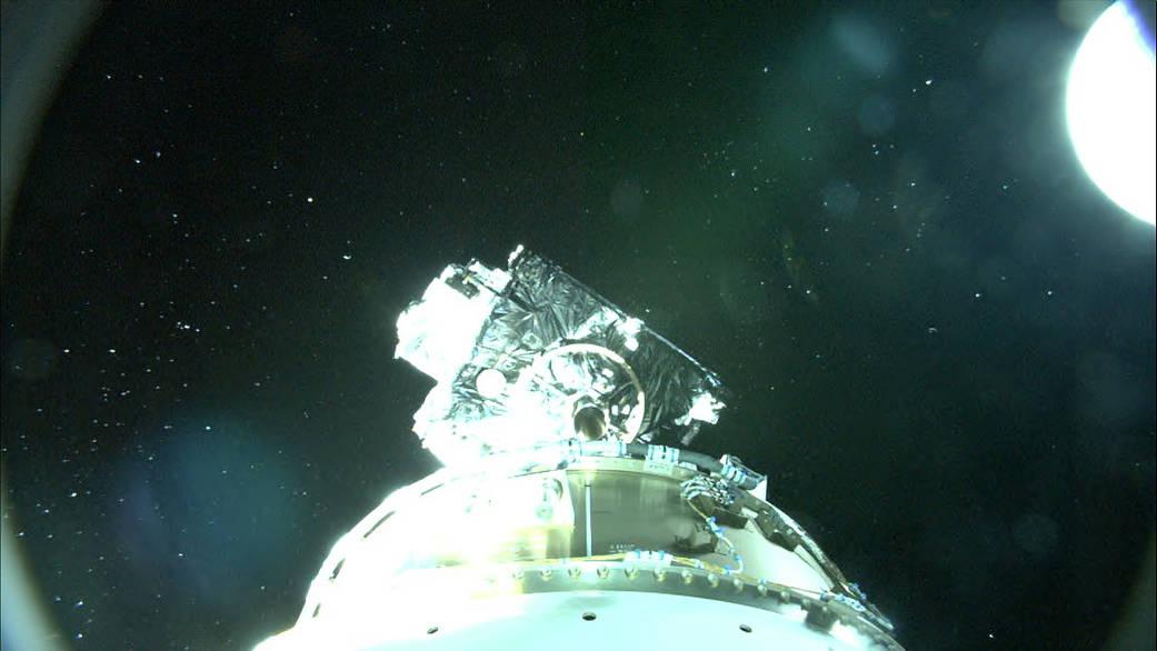 GOES-R separates from Atlas V Centaur upper stage.
