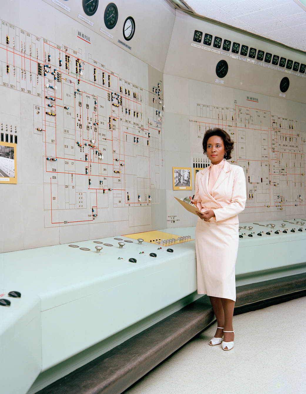 Annie Easley at NASA in 1981. Image: nasa.gov