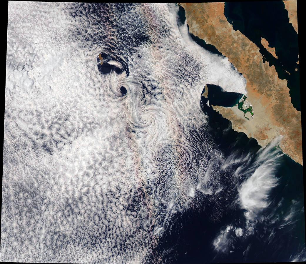 Satellite image of Guadelupe