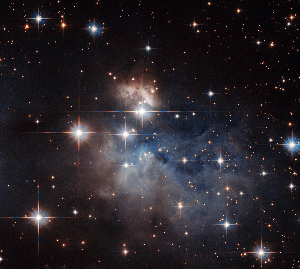 An emission-line star known as IRAS 12196-6300.