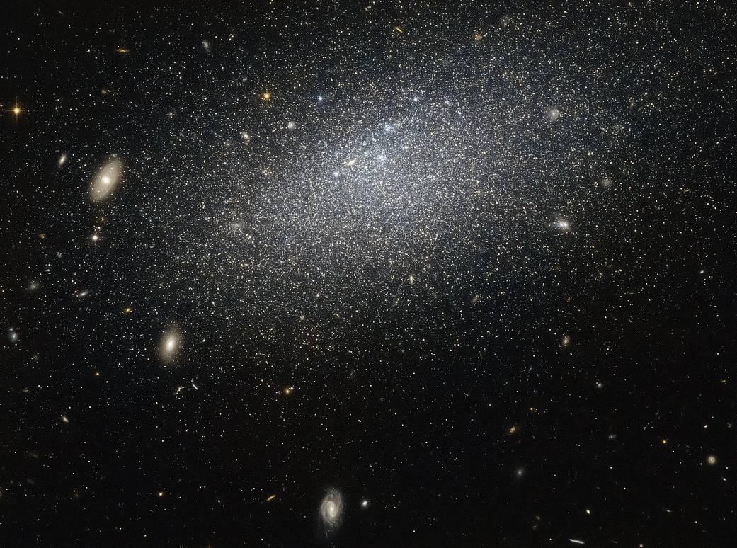 Dværg galaksen VV124