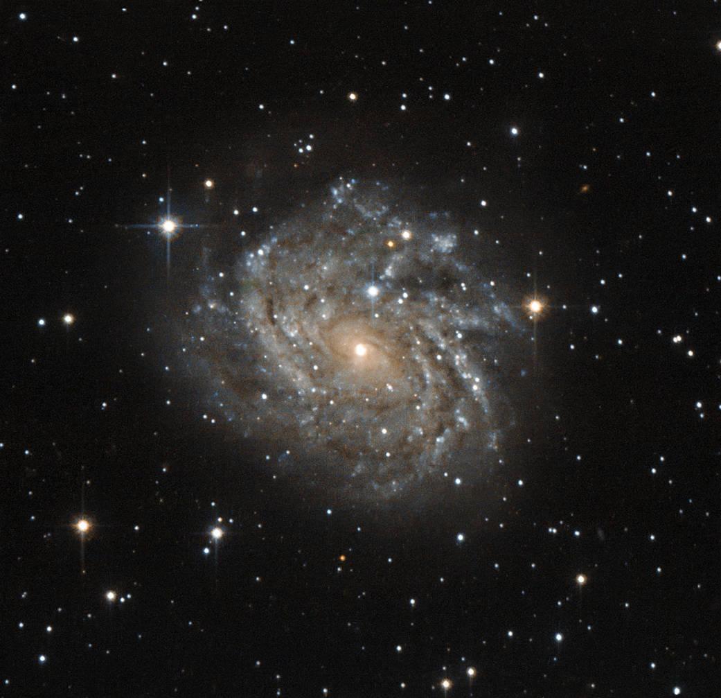 A classic spiral galaxy
