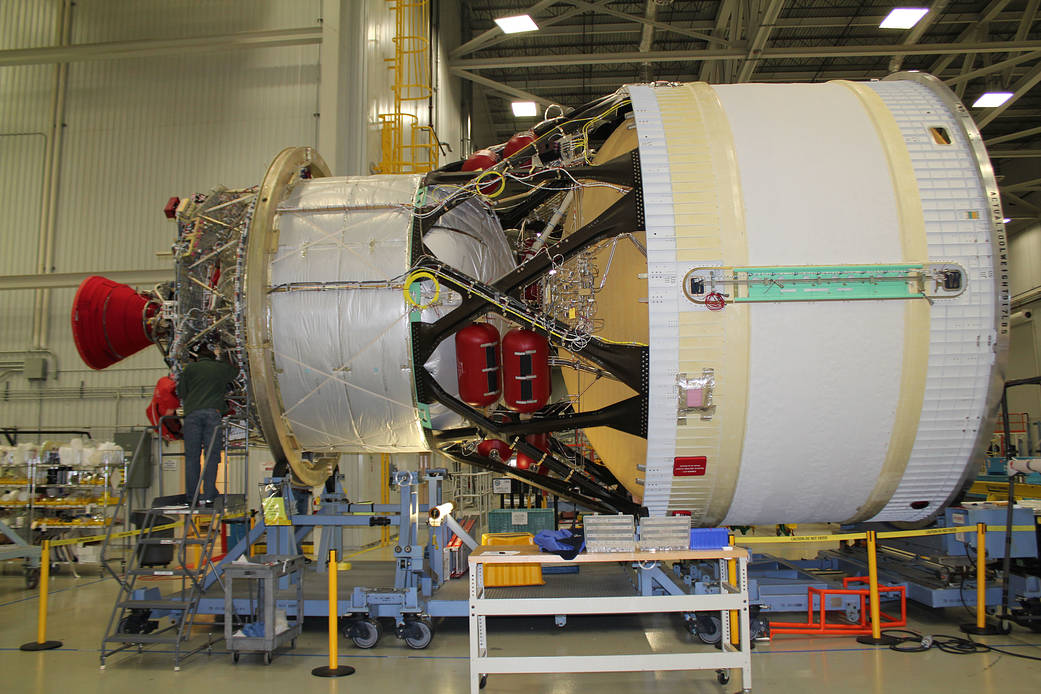The interim cryogenic propulsion stage (ICPS).