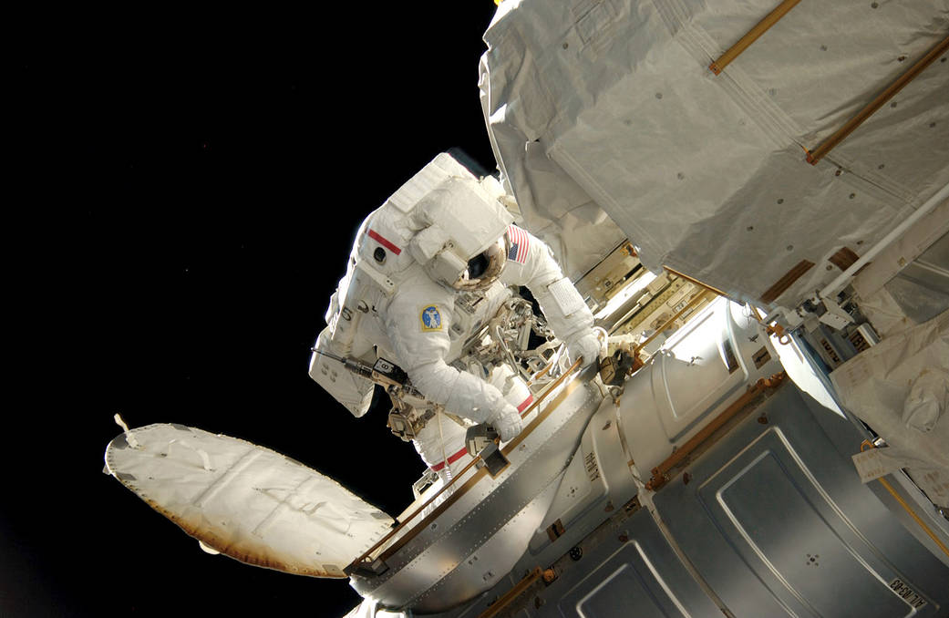 This week in 2007, space shuttle Atlantis and STS-117 launched from NASA's Kennedy Space Center to the Space Station.