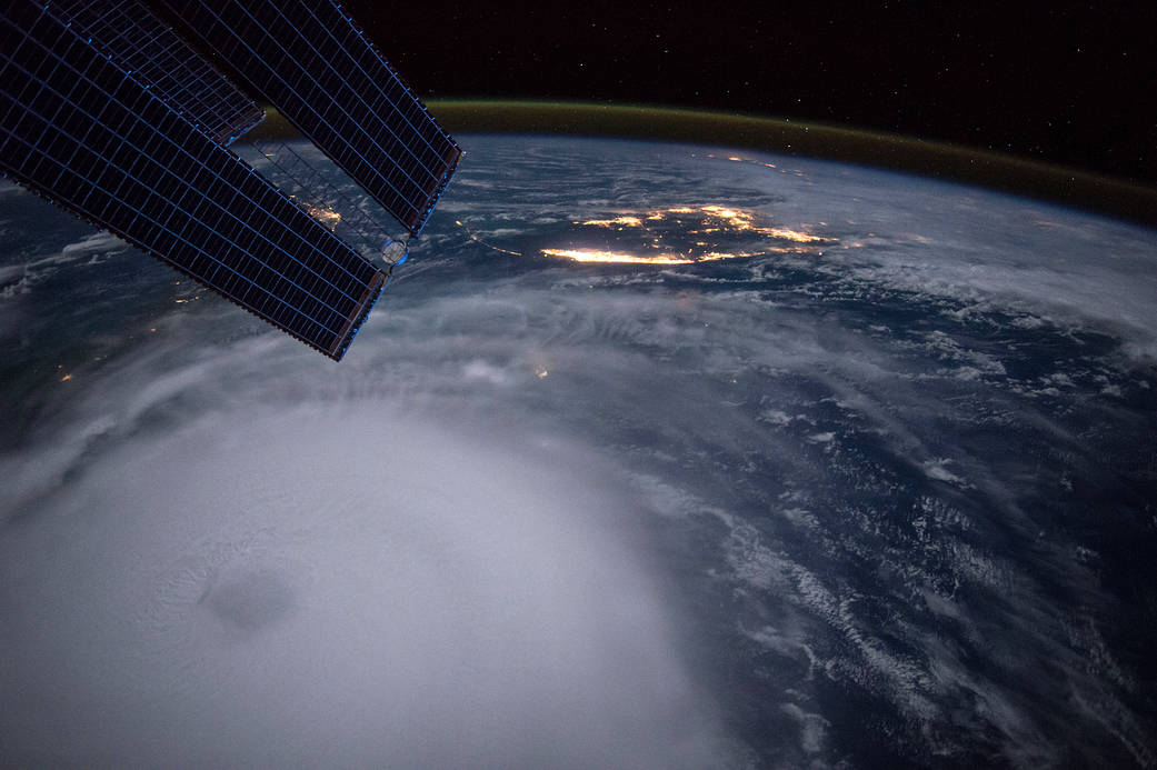 Hurricane Joaquin from the International Space Station