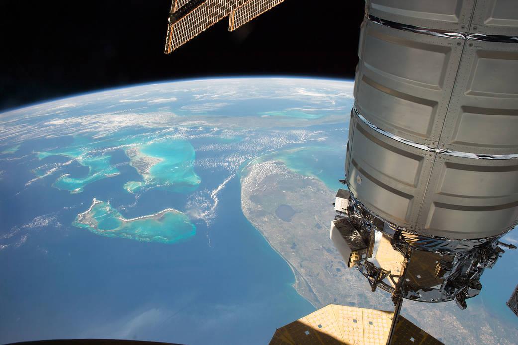 Fotografías de la Tierra tomadas desde la Estación Espacial Internacional Iss051e040813