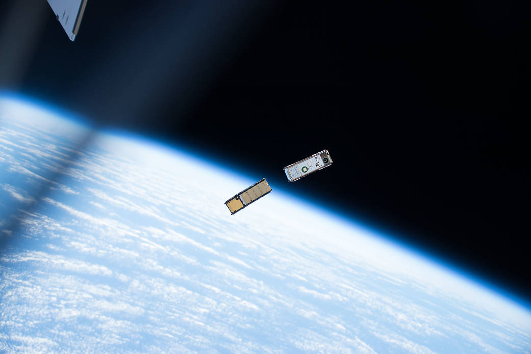 CubeSats Deployed Outside Station's Kibo Lab Module