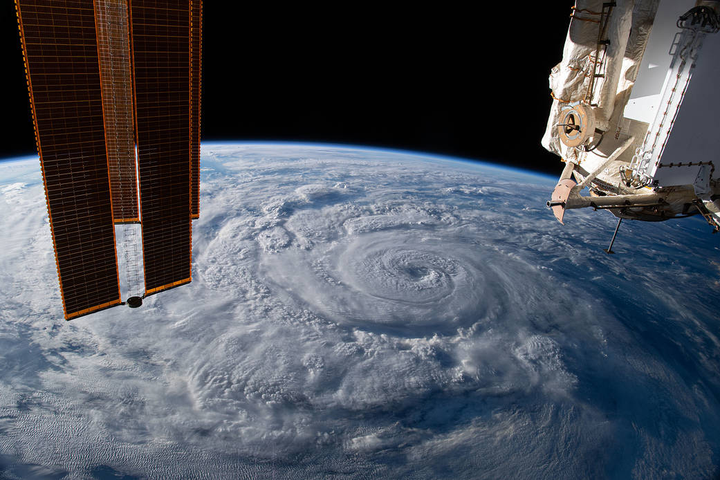 La Stazione Spaziale Internazionale Iss063e074377
