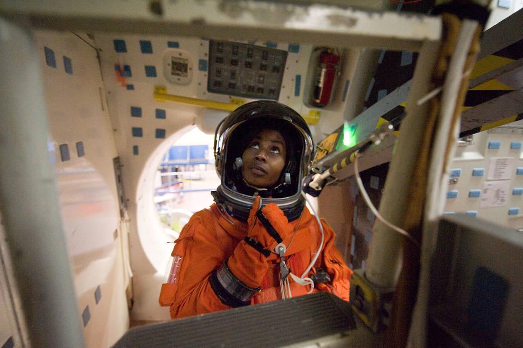 Astronaut Stephanie D. Wilson