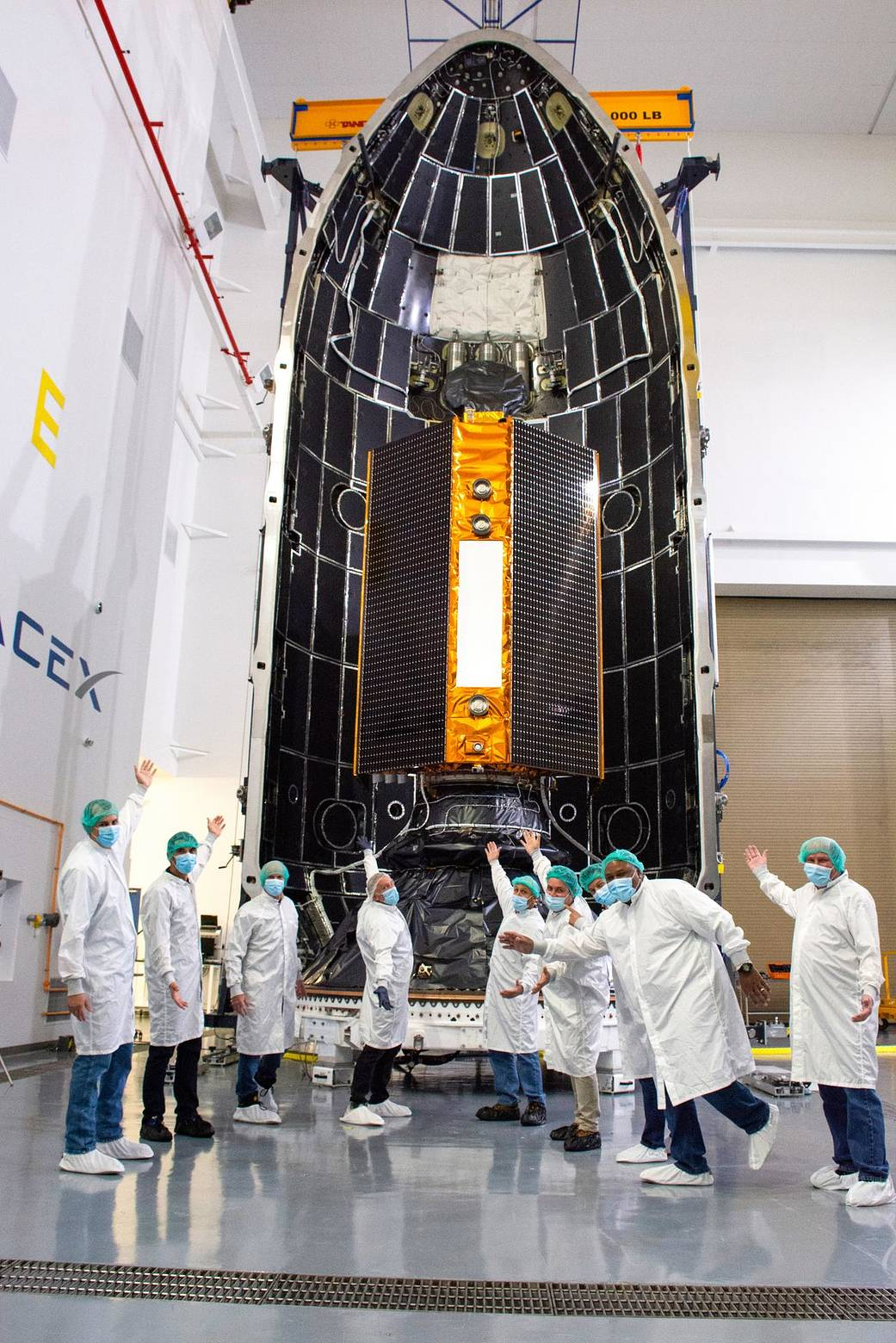 Inside SpaceX's Payload Processing Facility at Vandenberg Air Force Base