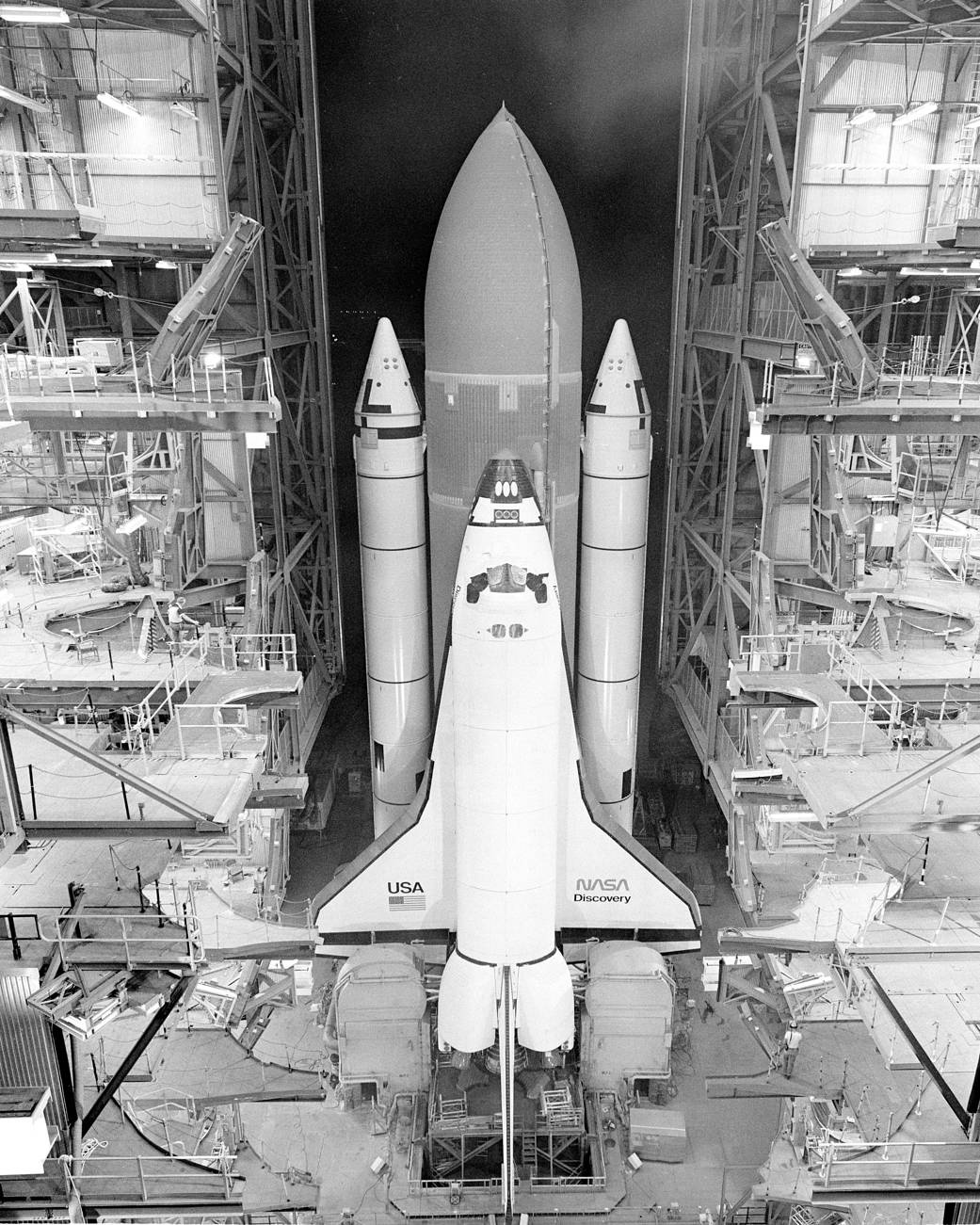 This week in 1984, space shuttle Discovery and STS-41D launched from Kennedy Space Center.