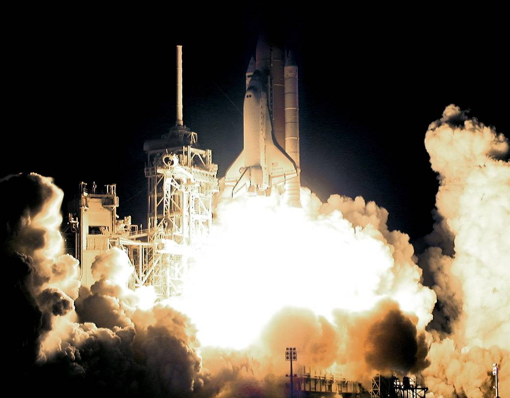 This week in 2000, space shuttle Discovery and STS-92 launched on the 100th flight of the space shuttle program.