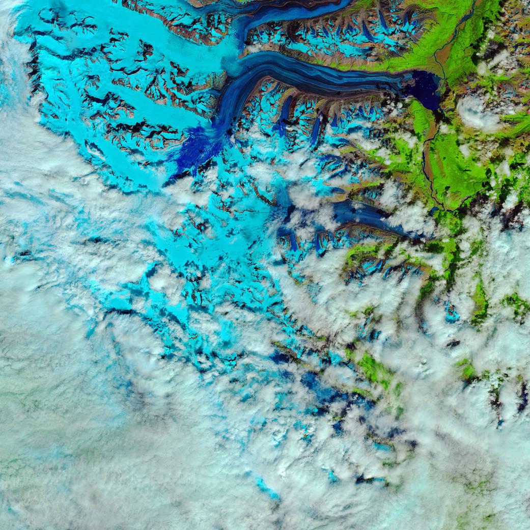 Canada's Lowell Glacier
