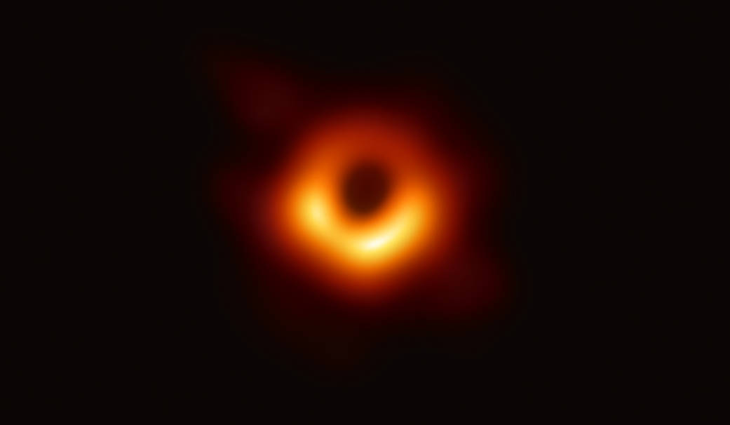 Звёздное небо и космос в картинках M87_eht
