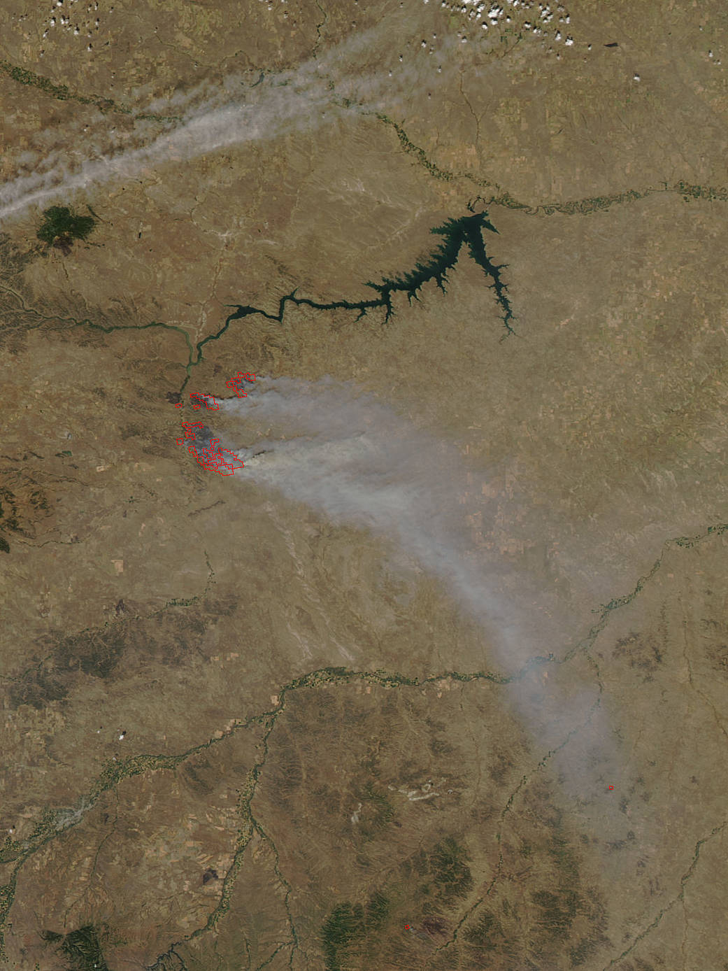 Aqua image of Crying Fire in Montana