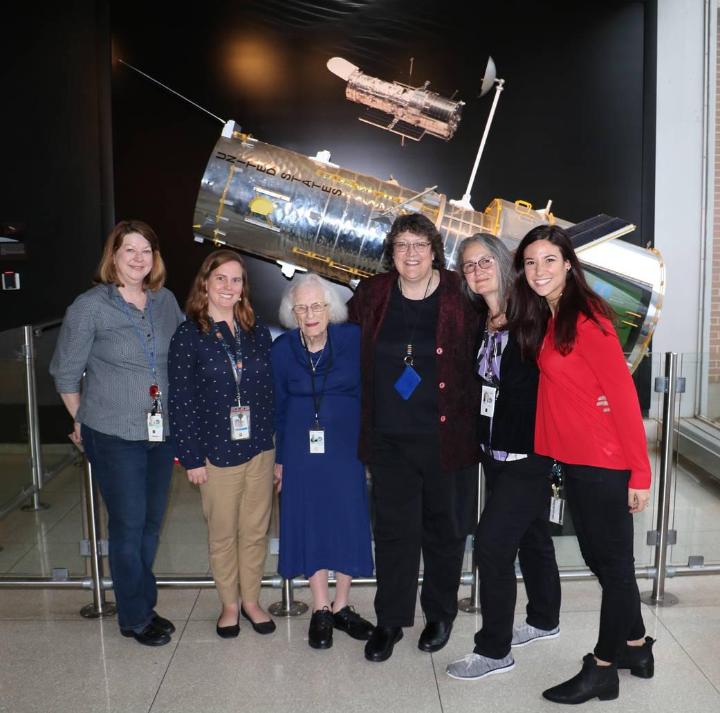 Nancy Grace Roman and the 'women of Hubble'