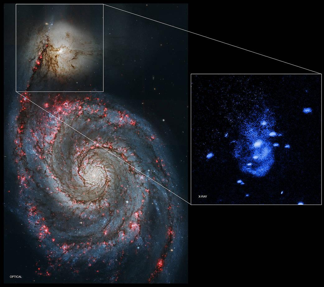 Galaxy NGC 5195