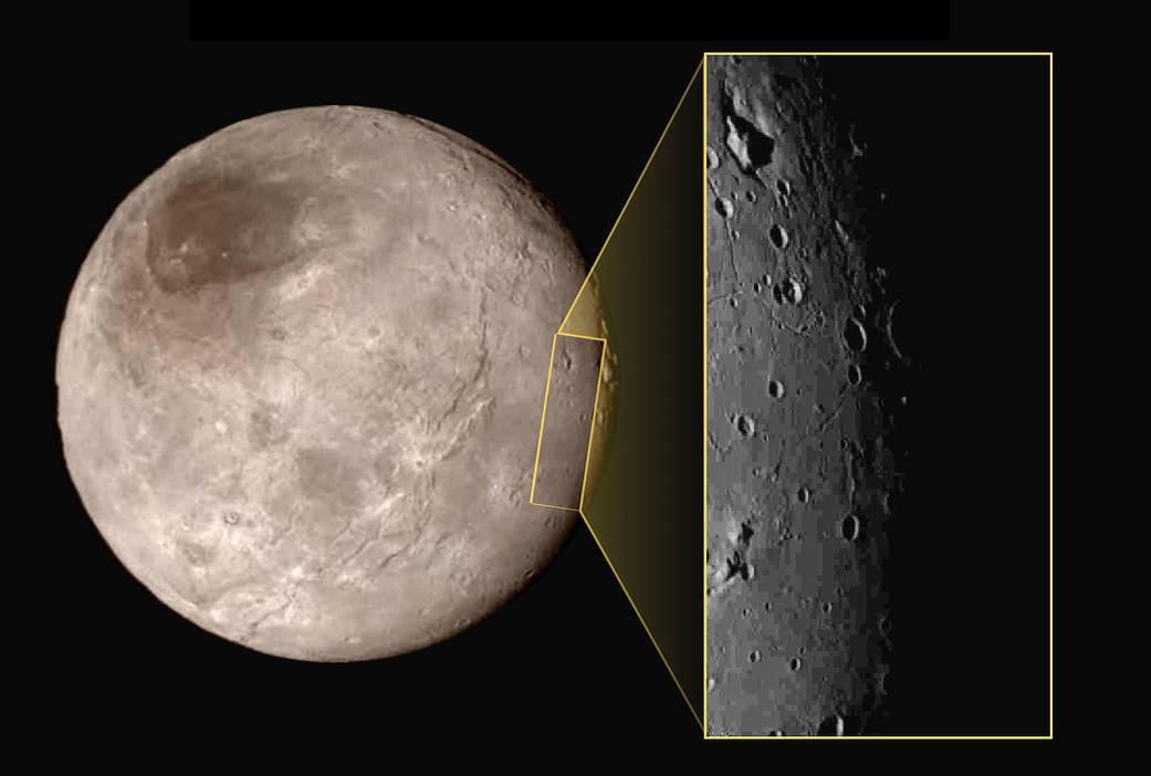 Откриени планини на Плутон и Харон