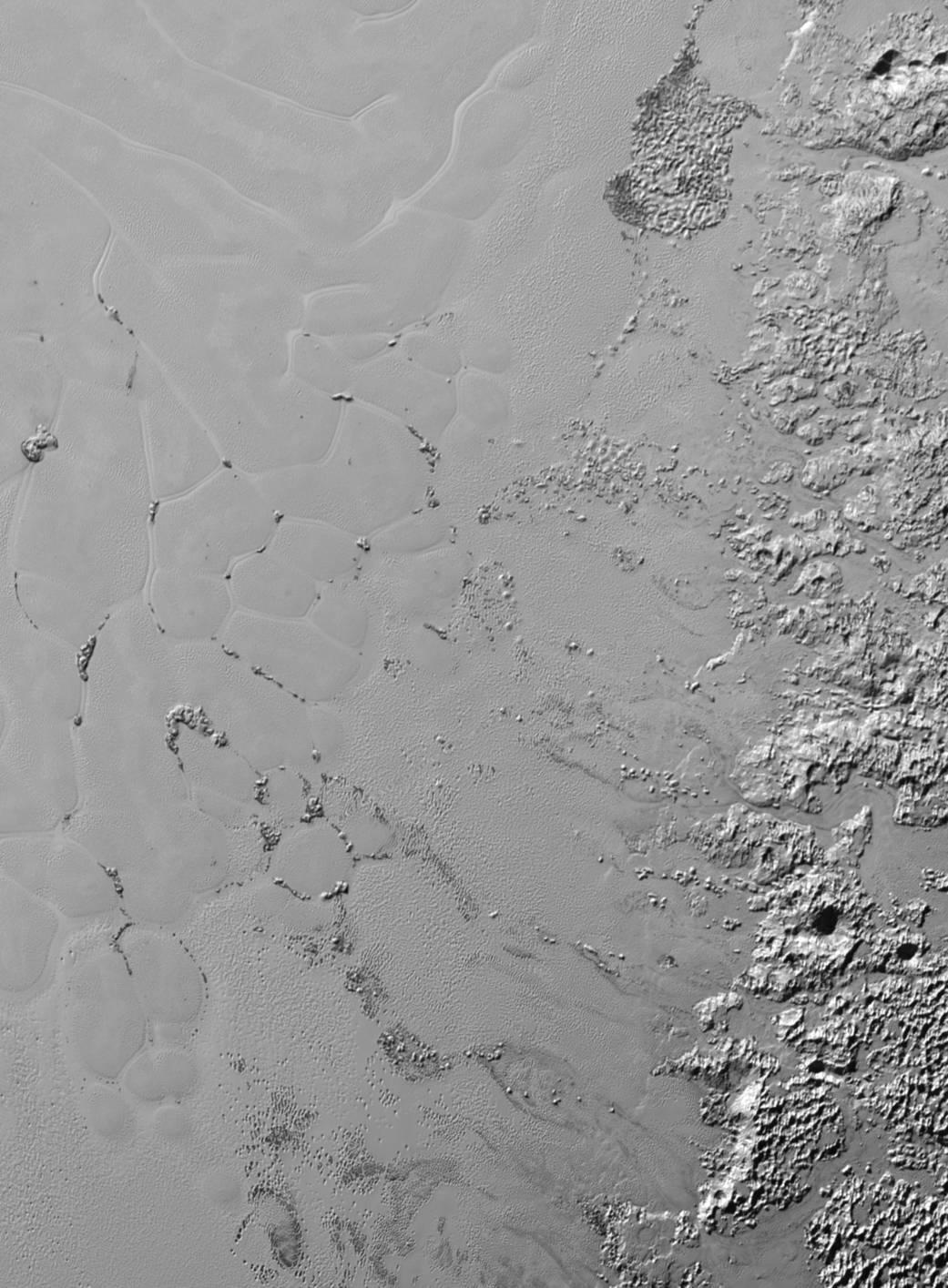 Pluto Terrain