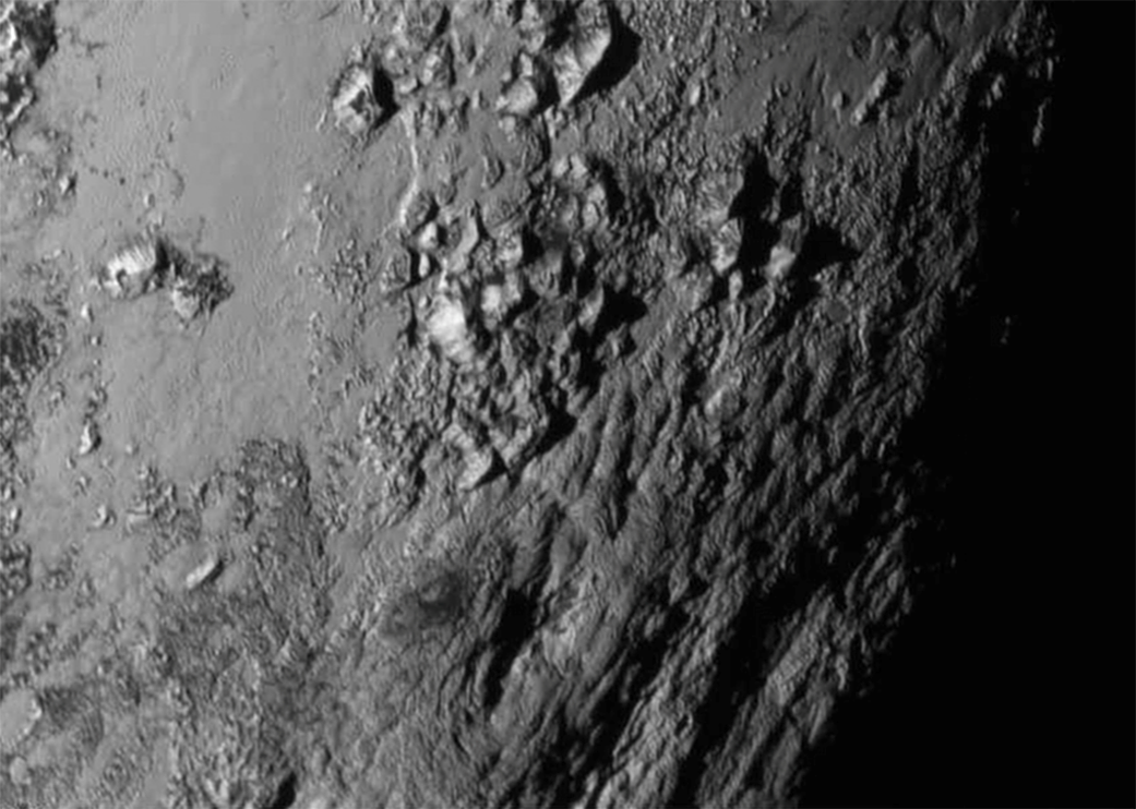 Plutón de cerca