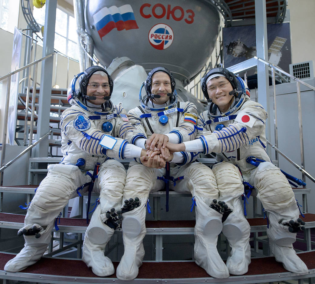 Expedition 52 backup crew member