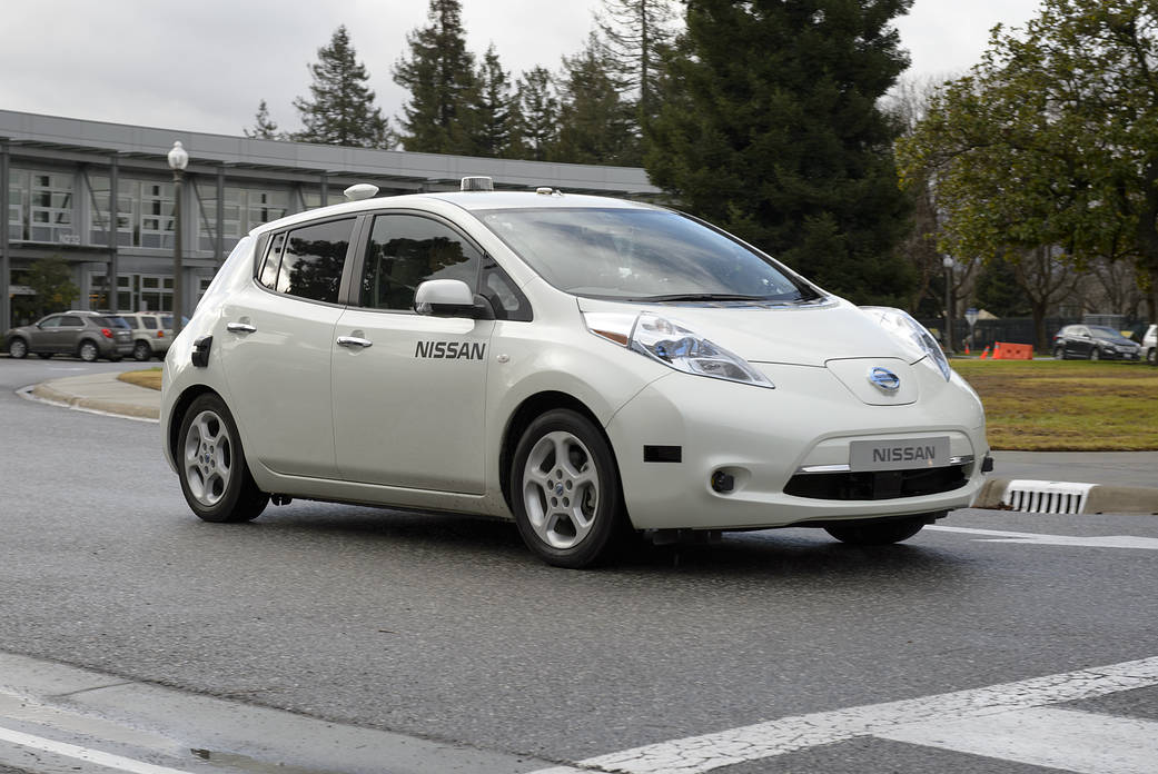 Nissan test drives NASA space technology.Ames