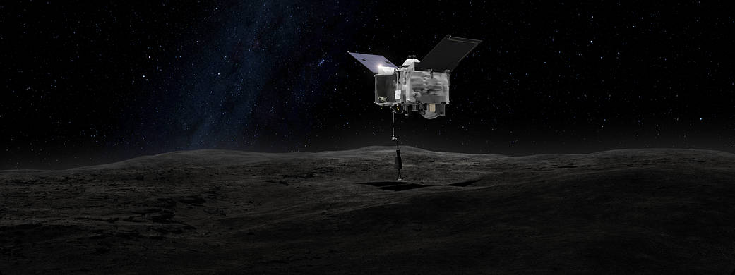 OSIRIS-REx contact the asteroid Bennu